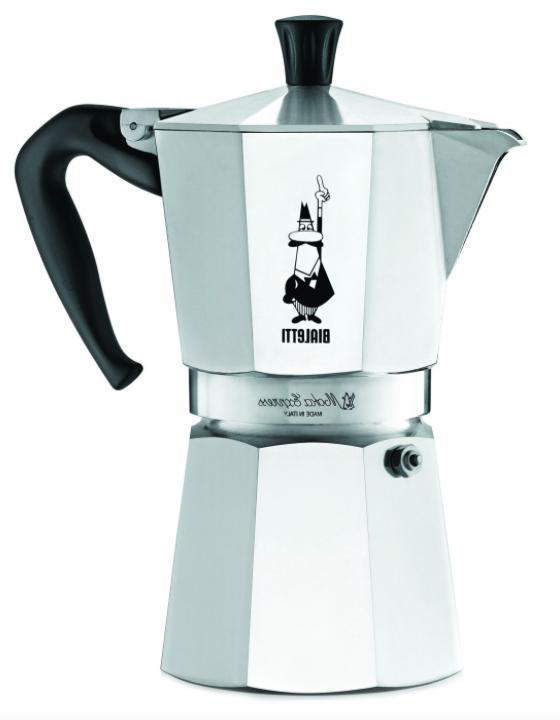 espresso maker machine stovetop coffee pot italy