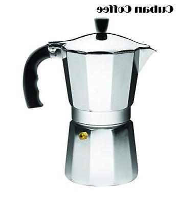 espresso maker stovetop coffeemaker 6 cup moka