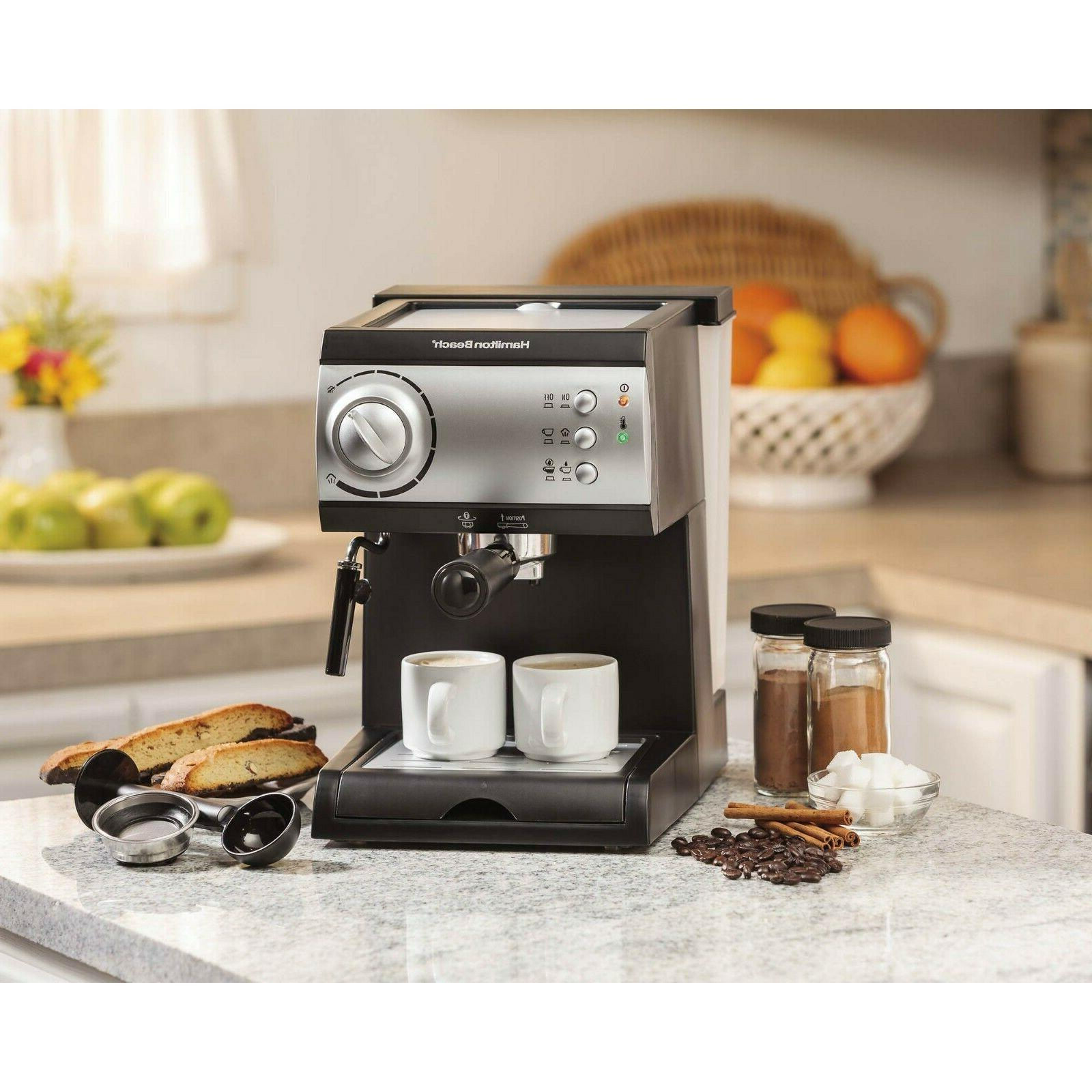 Hamilton Beach Espresso Maker with 15-bar ~Brand New Free Shipping