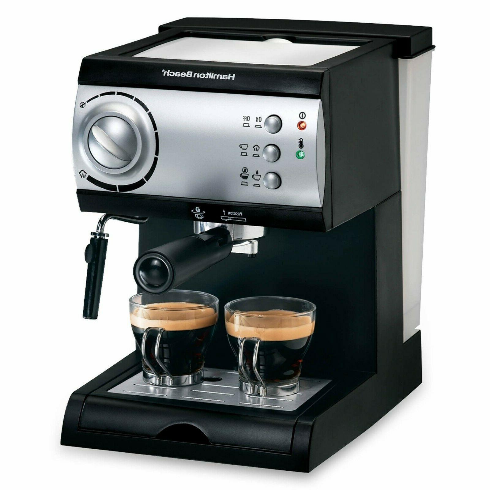 espresso maker with 15 bar italian pump