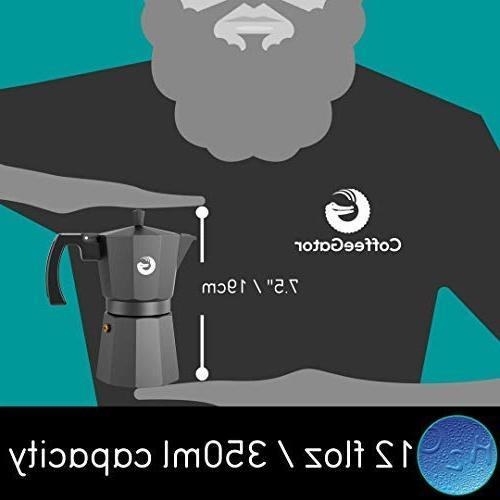 Coffee Espresso Pot Plus - Ounce