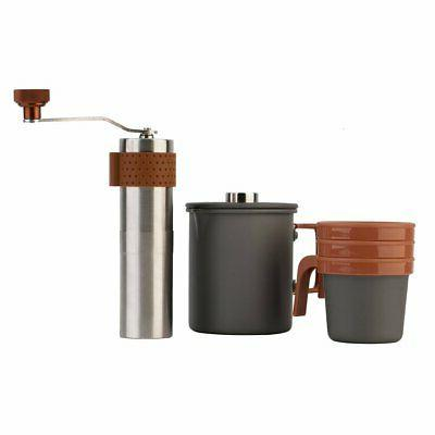 French Maker Stainless Steel 24oz Cafetiere Pot