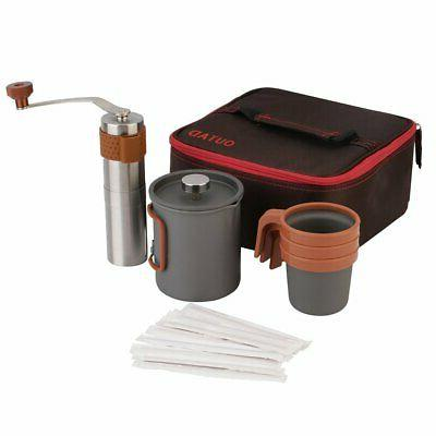 French Coffee Stainless Steel 4 24oz Filter Pot