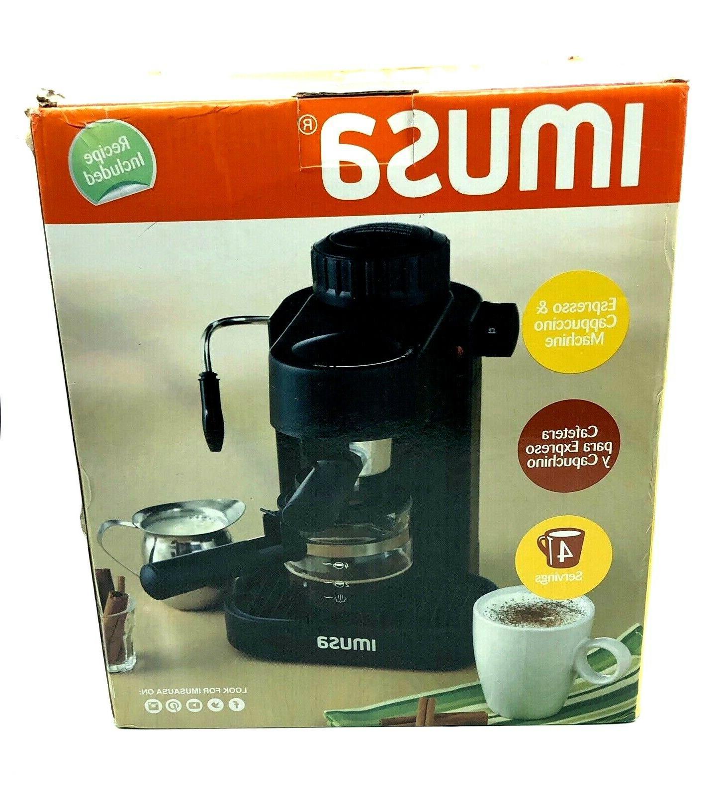 gau 18200 electric espresso and cappuccino maker