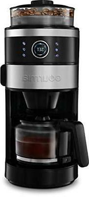 Gourmia GCM4850 Grind and Brew Coffee Maker with Built-In Gr