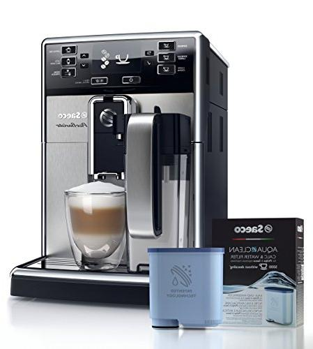 Saeco HD8927/47 Automatic Espresso Stainless Steel