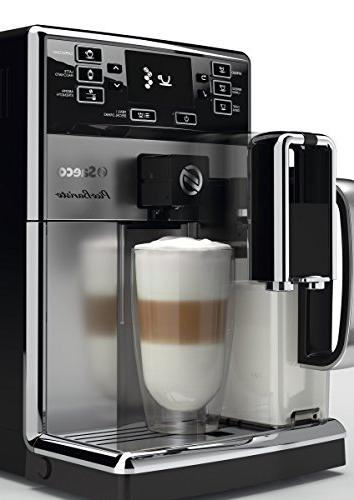 Saeco HD8927/47 PicoBaristo Super Automatic Stainless Steel