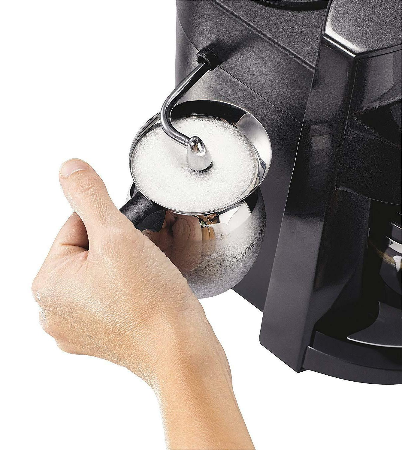Home Expresso Coffee Steam Frothing
