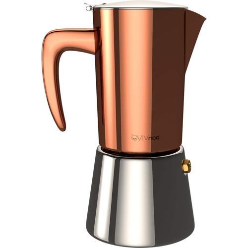 bonVIVO Intenca Stove-Top Italian Espresso Maker, Moka Pot M