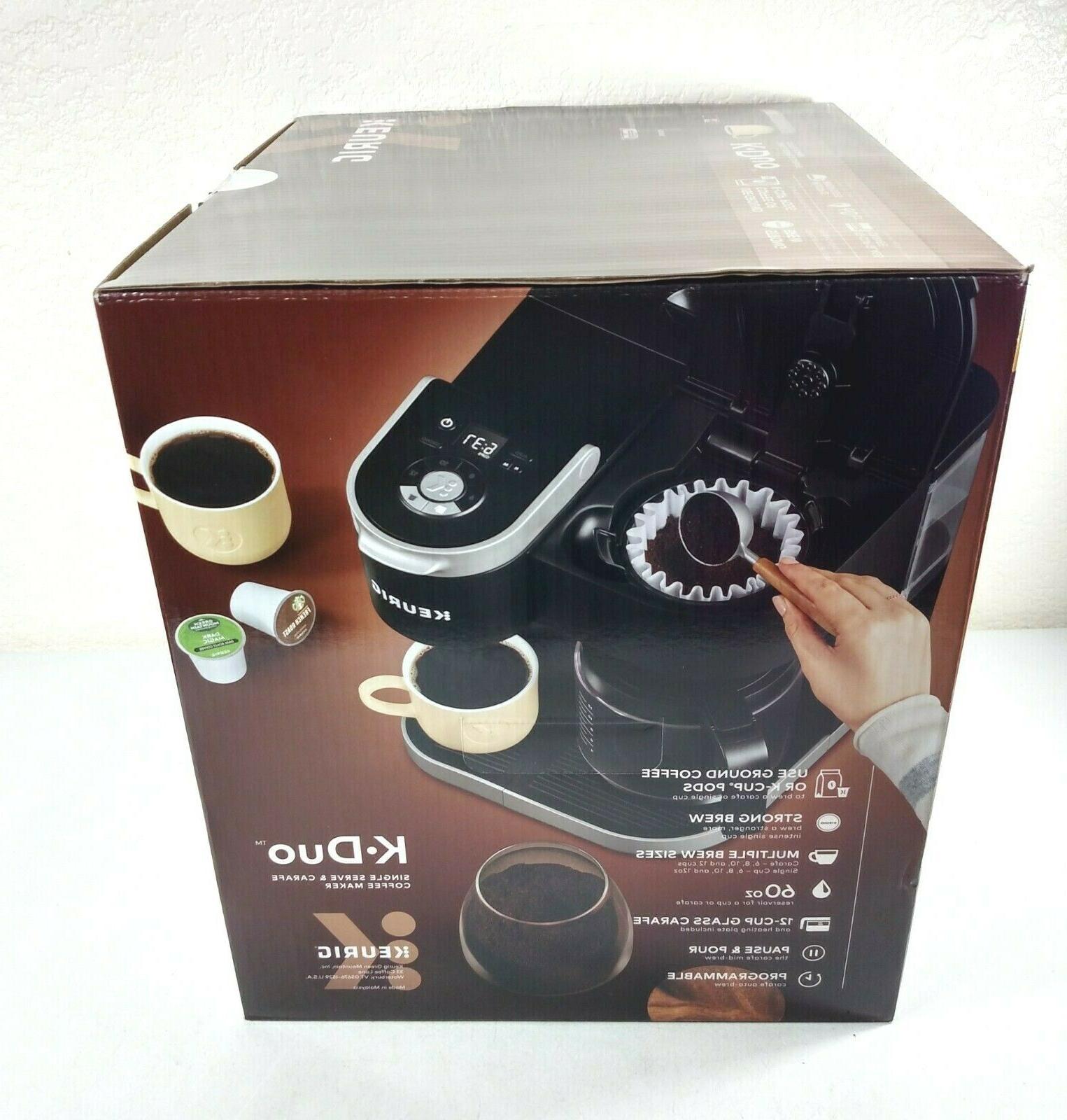 Keurig K-Duo Maker, Single Serve Carafe Coffee