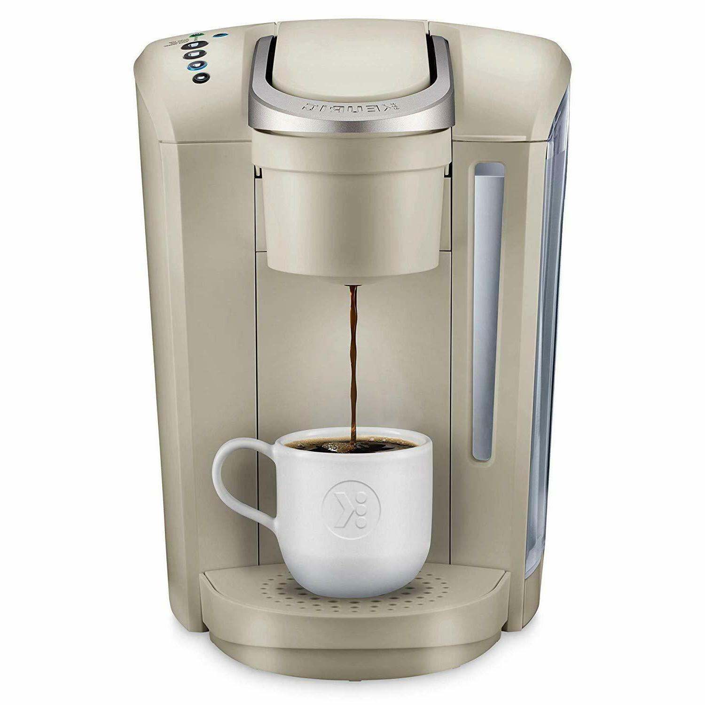 Keurig - K-Select Single-Serve K-Cup Pod Coffee Maker - Sand