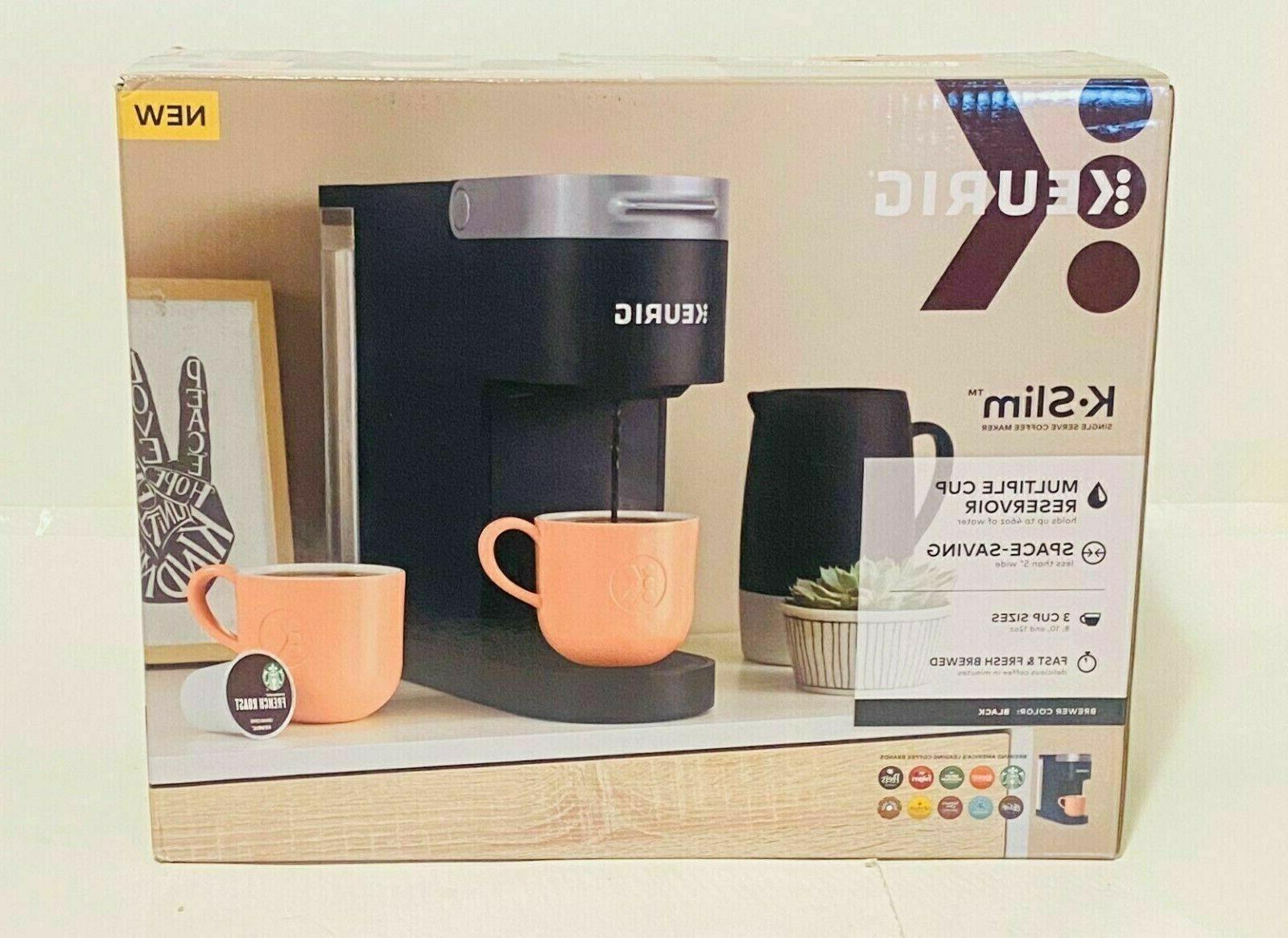 k slim coffee maker single serve k
