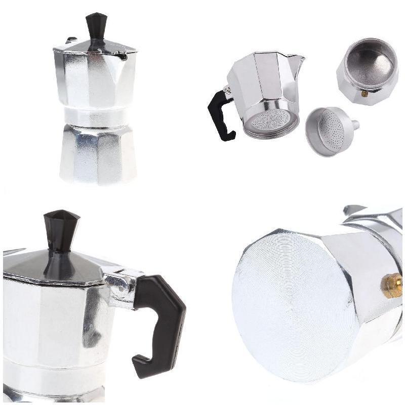 Moka Coffee Pot <font><b>Espresso</b></font> <font><b>Maker<