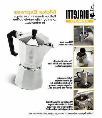 Bialetti Moka Stovetop Espresso Cup