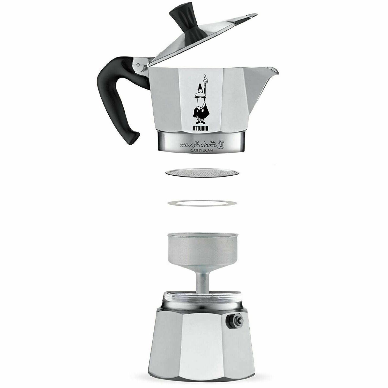 moka express italian stovetop 3 cup espresso