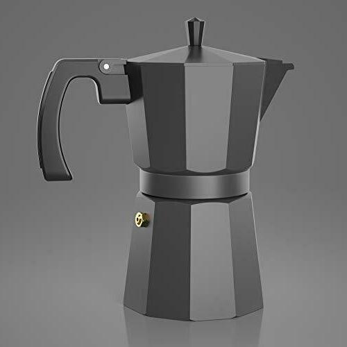 Moka Stovetop Espresso Maker - Gator, Rapid Stove Brewer -