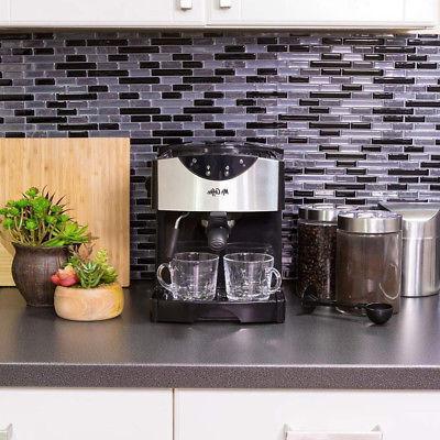 Mr. Coffee Pump Maker in Black ECMP50-RB