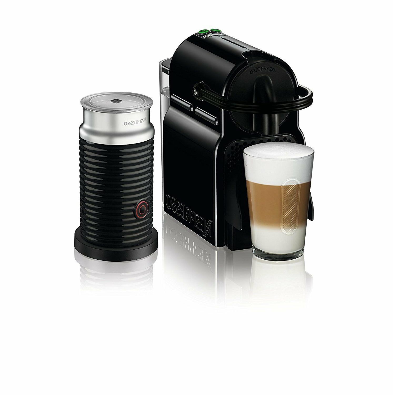 Nespresso EN80BAE Machine By With Aeroccino, Black