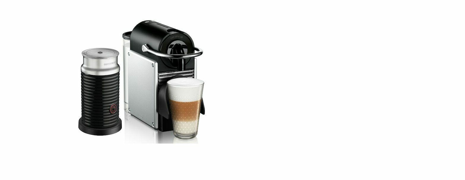nespresso pixie espresso machine by de longhi