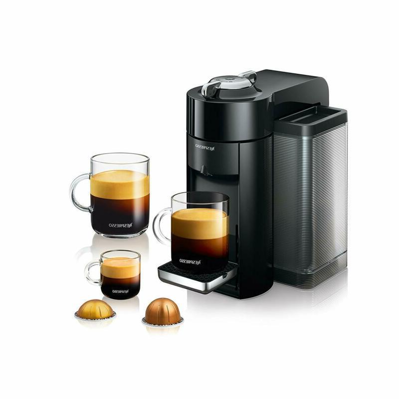 Nespresso Evoluo and Espresso with Aeroccino by