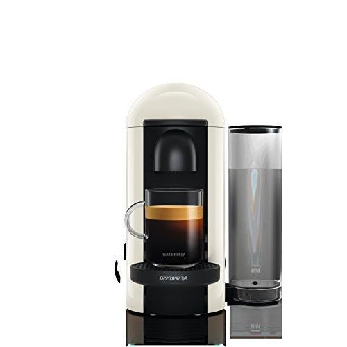 Nespresso VertuoPlus Coffee Espresso Machine White