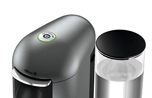 Nespresso VertuoPlus Deluxe Coffee and Bundle by Breville,