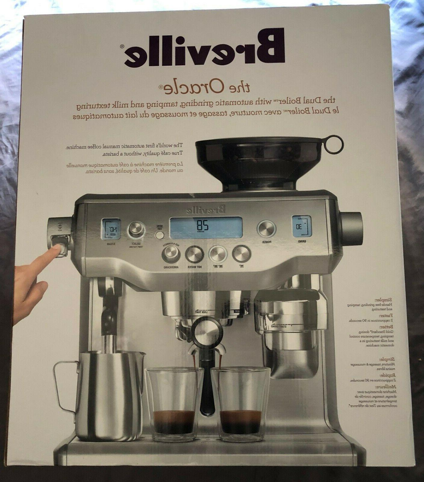 NEW! Breville Espresso Stainless Steel