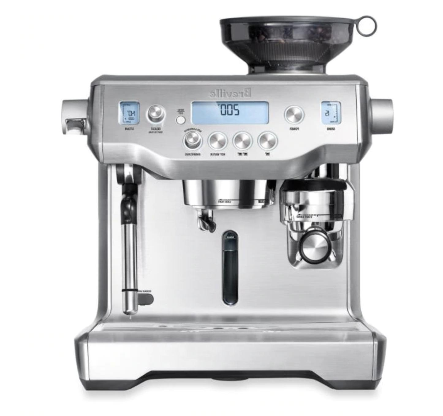 new bes980xl oracle espresso machine brushed stainless
