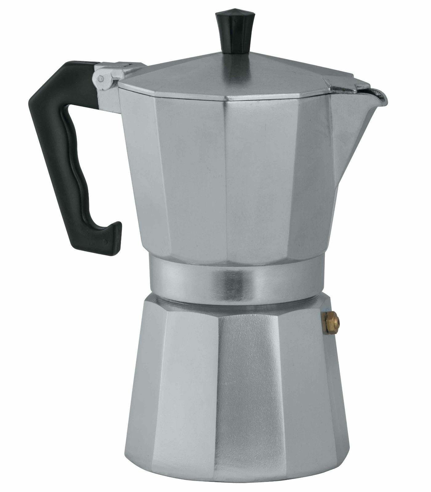 new classic pro aluminium espresso maker 9