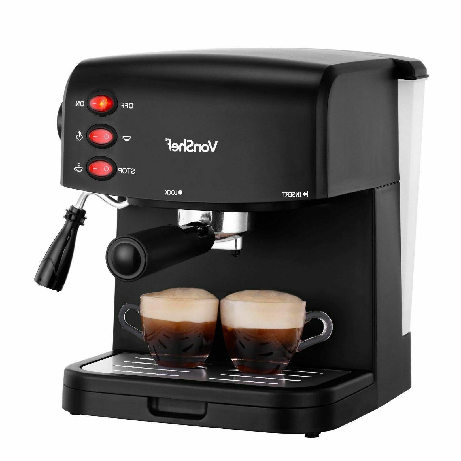 new espresso coffee machine maker 15 bar