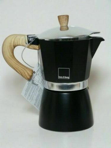 New* Gnali stove Espresso maker -Black or White