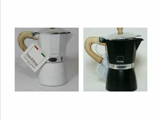 new stove top espresso maker black or