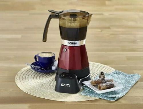 new usa electric espresso coffee moka maker