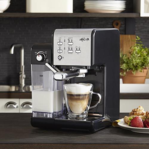 Mr. Coffee One-Touch Espresso Maker and Machine