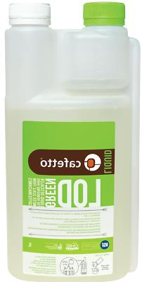ORGANIC CAFETTO LOD LIQUID DESCALER 1 LITRE FOR USE ON ALL C