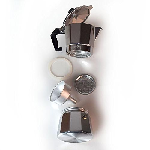 Primula Espresso 12 Cups, Aluminum