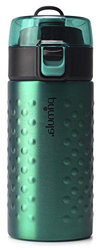 Primula PHAI-12TE01 Single Serve Double Wall Water Bottle, T