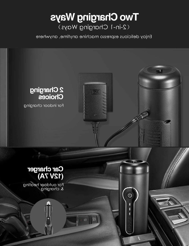Aicok Portable 18 Espresso Machine, Espresso
