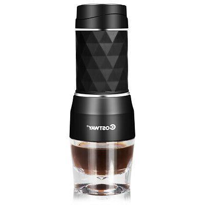 portable espresso machine 20 bar manual upgrade
