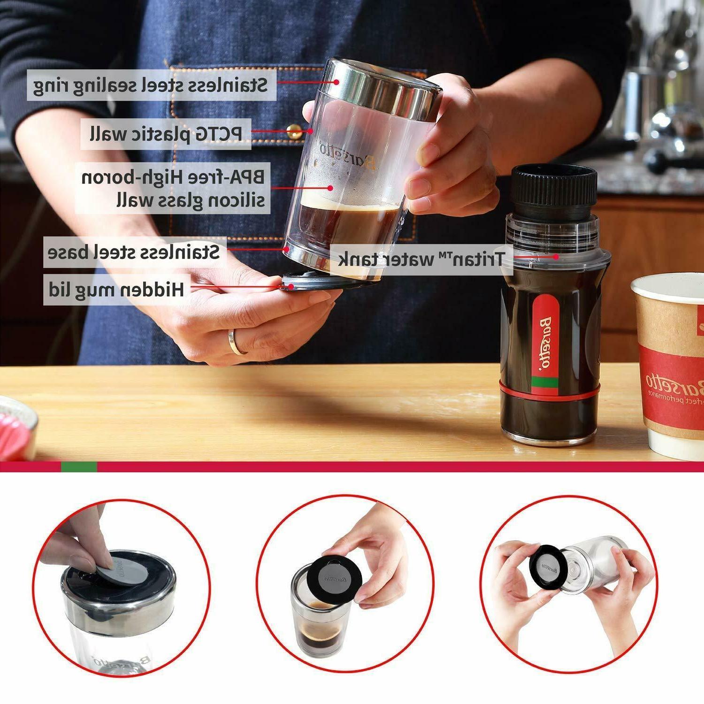 Barsetto Coffee Espresso Machine Bar Hand