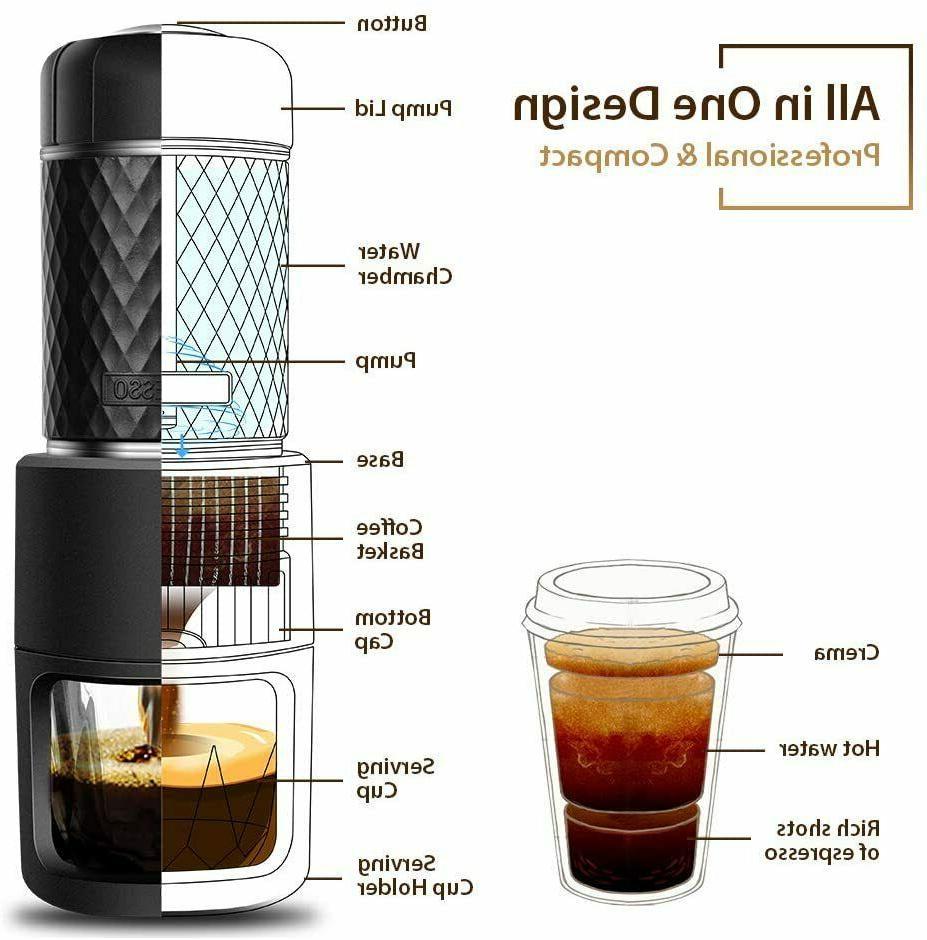STARESSO Machine Coffee