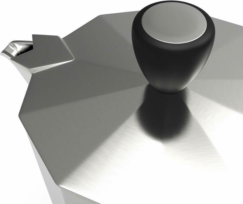 Primula Espresso Aluminum Stovetop Moka Pot Kettle NEW