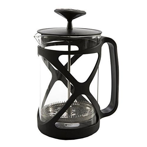 Primula Tempo French Press Coffee Maker - 6 Cup , Black
