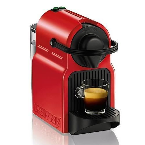red line inissia espresso maker