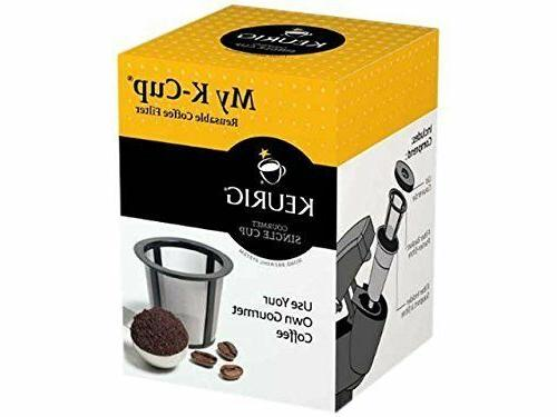 Reusable Coffee Filter Brewers Espresso Maker Machine Access