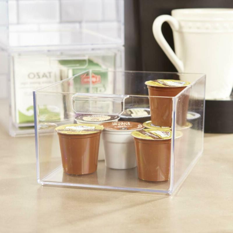 Stackable Pod Tea Bag Organizer Drawers   Set Of 2