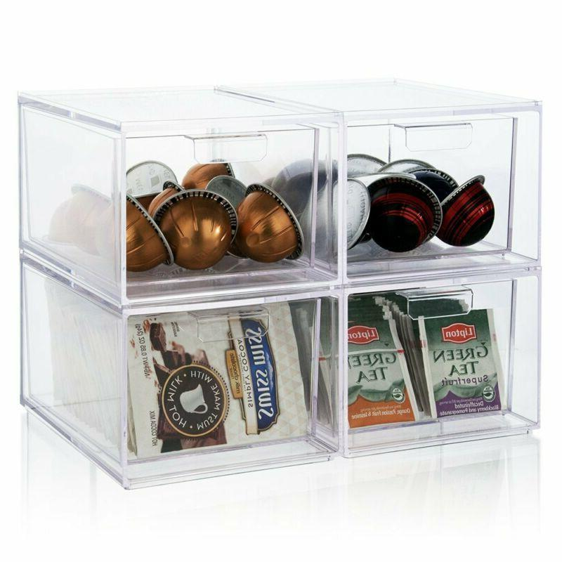 Stackable Clear Coffee Pod And
