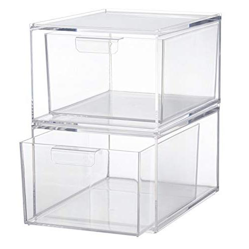 Stackable Clear Pod Organizer of