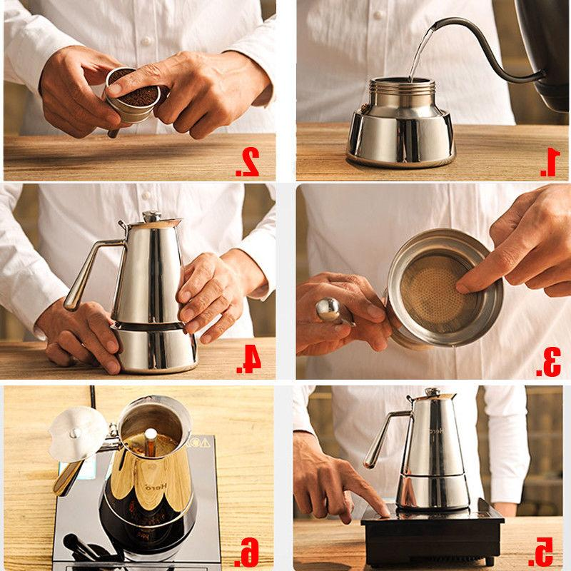 Stainless Home Coffee Espresso