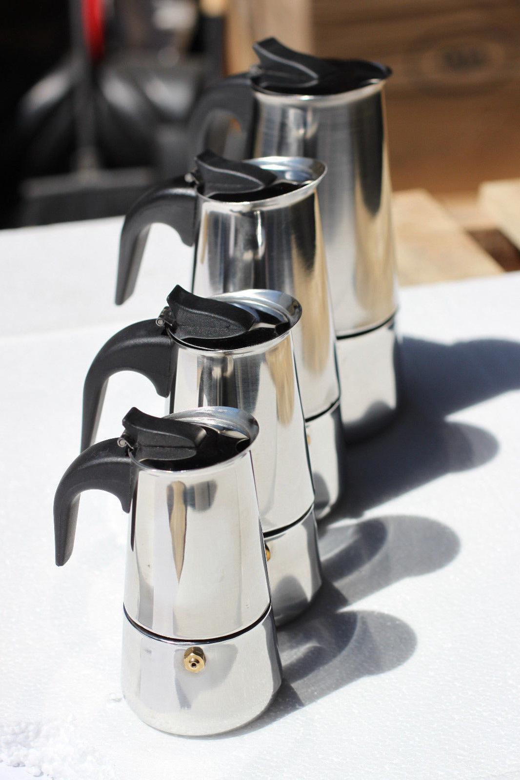 Stainless Steel Espresso Coffee Stovetop cup